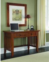 Home Styles Arts & Crafts Cottage Oak Student Desk
