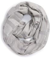 Women's La Double 7 Stitch Stripe Infinity Scarf