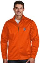 Antigua Men's Syracuse Orange Waterproof Golf Jacket