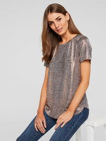 Portmans Shelly Shimmer Top