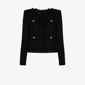 Balmain Tailored Boucle Jacket