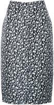 Altuzarra floral print skirt - women - Silk/Lurex/Polyamide/Acetate - 36