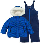 Osh Kosh Oshkosh Bgosh Toddler Girl Polka Dot Jacket & Bib Snow Pants Set