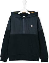 Paul Smith zipped neck hoodie