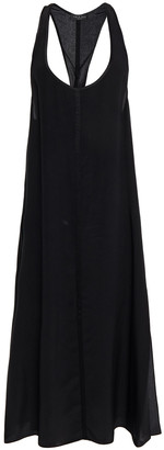 Rag & Bone Billie Layered Silk Crepe De Chine Midi Dress