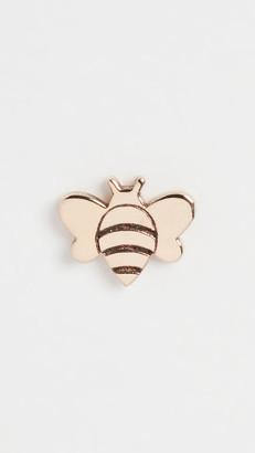 Zoë Chicco 14k Gold Single Itty Bitty Bee Studs