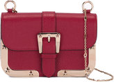 RED Valentino buckle detail crossbody bag - women - Calf Leather/Metal (Other) - One Size