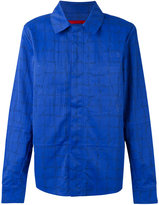 The North Face concealed fastening shirt jacket - men - Polyamide/Polyester - S
