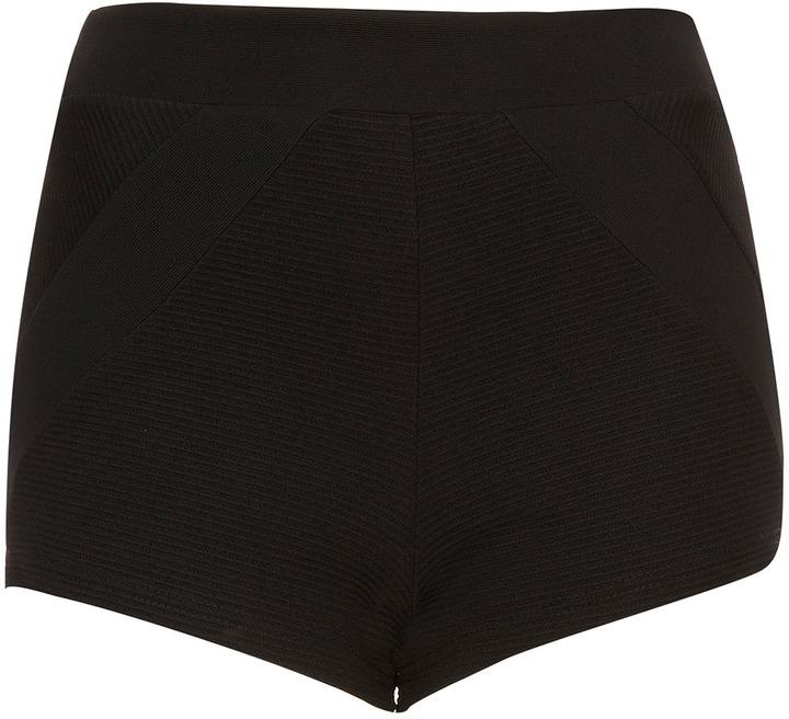 Topshop Block Panel Knicker Shorts