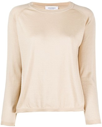 Snobby Sheep Raglan-Sleeves Pullover