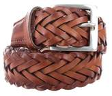 Paul Smith Woven Leather Belt w/ Tags