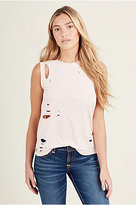 True Religion Ripped Womens Tank