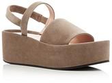 Furla Capriccio Slingback Platform Sandals