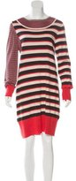 Marc by Marc Jacobs Striped Wool Dress