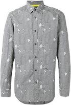 Diesel blotch print shirt - men - Cotton - S