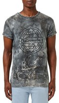 Topman Men's 'Ostermalm' Crackle Print T-Shirt