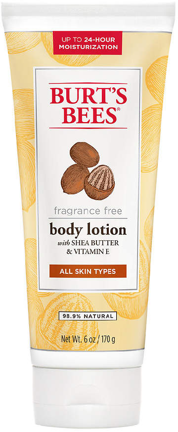 Burt's Bees Shea Butter & Vitamin E Body Lotion Fragrance Free, Fragrance Free