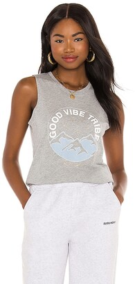 Spiritual Gangster Good Vibe Muscle Tank