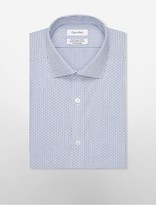 Calvin Klein Steel Slim Fit Non-Iron Check Dress Shirt