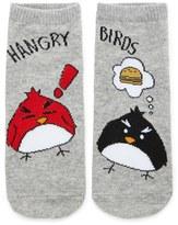 Forever 21 FOREVER 21+ Hangry Birds Ankle Socks