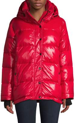 S13 S 13/Nyc Hooded Down Puffer Coat