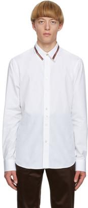 Paul Smith White Artist Stripe Collar Shirt