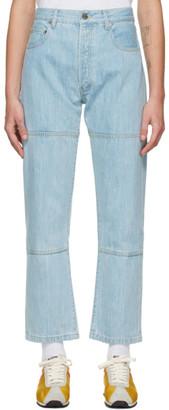Études Blue Corner Denim Jeans