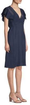 Tory Burch Madison Silk A-Line Dress