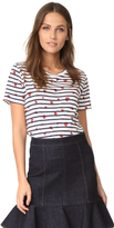 Chinti and Parker Short Sleeve Ladybird Breton Tee