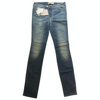 Max Mara Weekend Blue Cotton - elasthane Jeans for Women