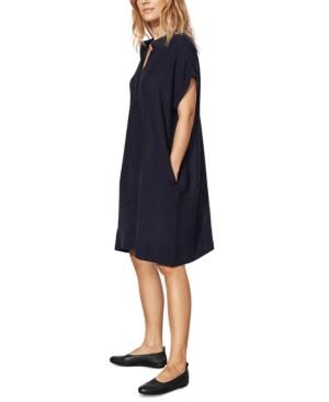 Eileen Fisher Organic Linen Shift Dress, Regular & Petite