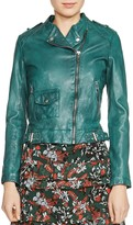 Maje Bassou Leather Jacket