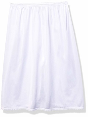Vanity Fair Women's Nylon Single Slit Half Slip 11760