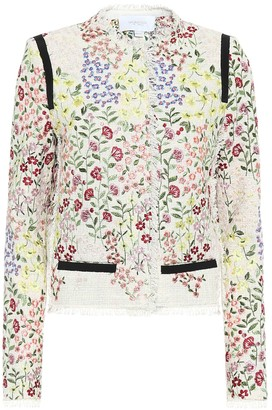 Giambattista Valli Cotton-blend tweed jacket