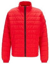 HUGO BOSS - Regular Fit Jacket With Prima Loft Filling - Red