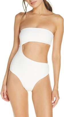 Frankie's Bikinis Carter Cutout One-Piece Swimsuit