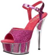 Pleaser USA Women's Delight-609-5G Ankle-Strap Sandal