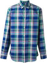 DSQUARED2 classic plaid shirt - men - Cotton - 48
