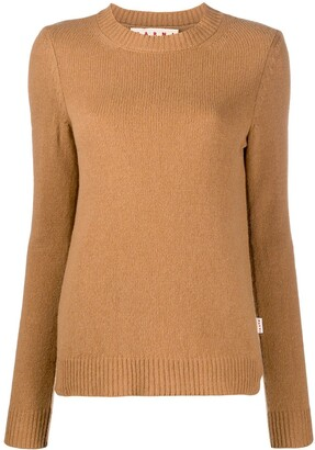 Marni Ribbed Crew Neck Jumper