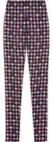 Emilio Pucci Printed Woven Skinny Pants
