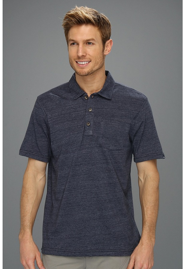 The North Face S/S Ellingwood Polo (Cosmic Blue) - Apparel