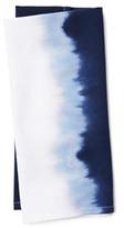 S4 S/4 Dip-Dye Napkins, Blue