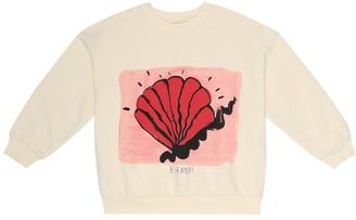 Mini Rodini Shell cotton sweatshirt