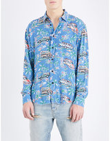 Saint Laurent Hawaiian-print Regular-fit Woven Shirt