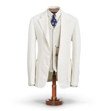 Ralph Lauren Linen Suit Jacket