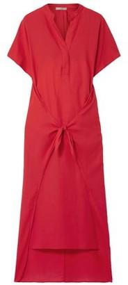 Vince Cotton-twill Midi Dress
