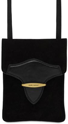 Isabel Marant Takury Suede Shoulder Bag