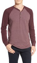 Tailor Vintage Men's Baseball Henley