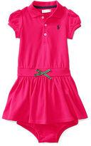 Ralph Lauren Mesh Polo Dress & Bloomer