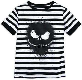 Disney Jack Skellington Striped T-Shirt for Boys The Nightmare Before Christmas